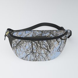 Winter Tree Fanny Pack