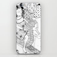 seahorse iPhone & iPod Skins featuring Seahorse by Amy Consolo