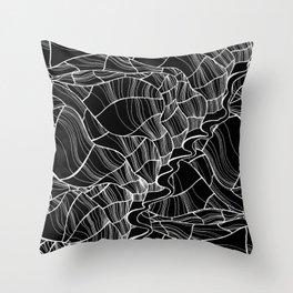 Moving Around Throw Pillow
