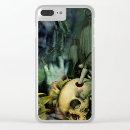 Trepanation (Skull) Clear iPhone Case