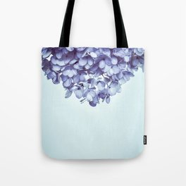 Floral fringe - french blue Tote Bag