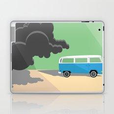 Dharma Van vs Smoke Monster Laptop & iPad Skin
