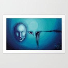 Beside Yourself Art Print