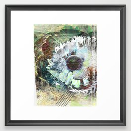 My Flower Layers Framed Art Print