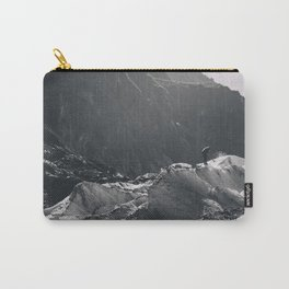 carving the ice - b&w Carry-All Pouch