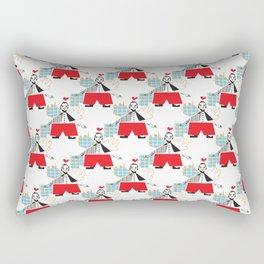 lovely angel pattern Rectangular Pillow