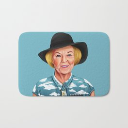 Hipstory - Queen Beatrix of the Netherlands Bath Mat