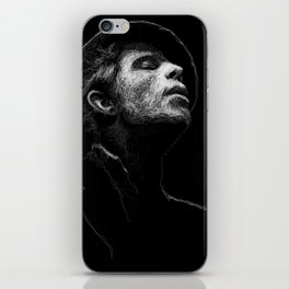 Tom Waits (scribble style) iPhone Skin