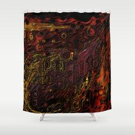 Salamader Shower Curtain