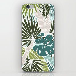 Veil of palm iPhone Skin