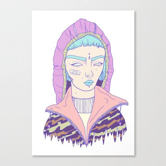 Portrait1 Canvas Print