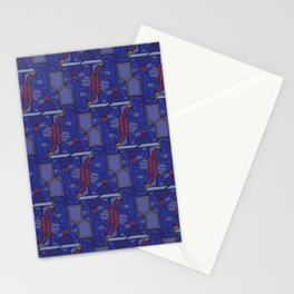 Knights of Escher Stationery Cards