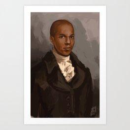 Aaron Burr Art Print