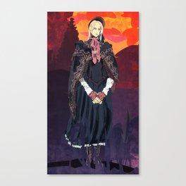 Plain Doll Laments Canvas Print