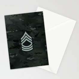 Master Sergeant (Urban Camo) Stationery Cards