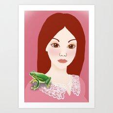Froggy Art Print
