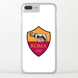 ROMA 1927 LOGO Clear iPhone Case