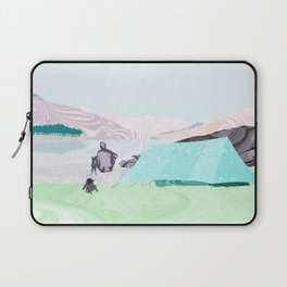 Morning Coffee at Loch Clunie Laptop Sleeve