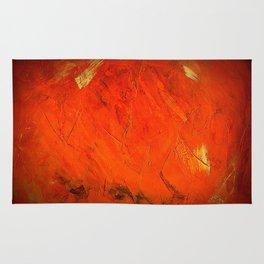 Italian Style Orange Stucco - Adobe Shadows Rug