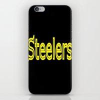 steelers iPhone & iPod Skins featuring Steelers - #1 by Judy Palkimas