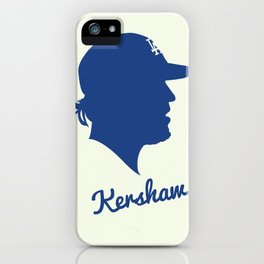 Clayton Kershaw iPhone Case