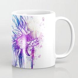 mandala colorful headdress Coffee Mug