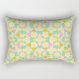 Pastel Bubblegum Kaleidoscope Rectangular Pillow