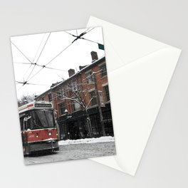 ttc toronto 501  Stationery Cards