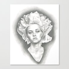 Imperial Paeonia Canvas Print