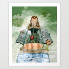 Overheated Art Print