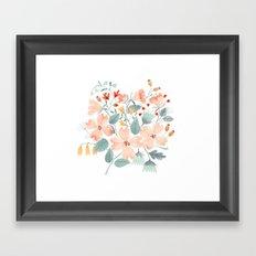 Dogwood Flowers Framed Art Print