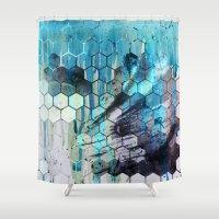 splash Shower Curtains featuring Splash by Esco