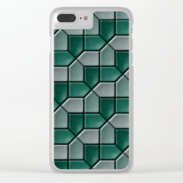 Geometrix C Clear iPhone Case