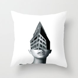 portrait (architecture) Throw Pillow