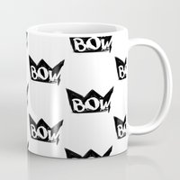 bow Mugs featuring Bow by Matt Smiroldo