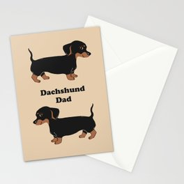 Dachshund Dad Stationery Cards