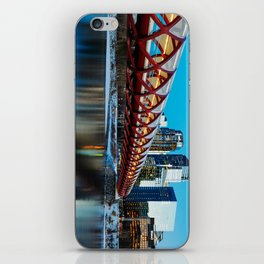 Peace Bridge Calgary iPhone Skin