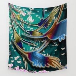 Let your imagination soar Wall Tapestry