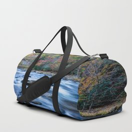 Fall in the Smokies - Autumn Colors at Laurel Creek in Smoky Mountains Duffle Bag