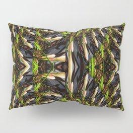 White Bud Pattern Pillow Sham