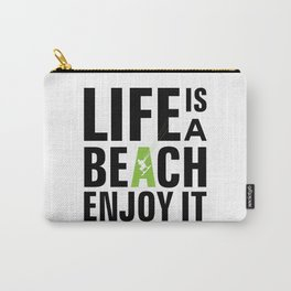 Kite surfing quote Carry-All Pouch