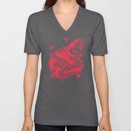 SNAKESKIN Unisex V-Neck