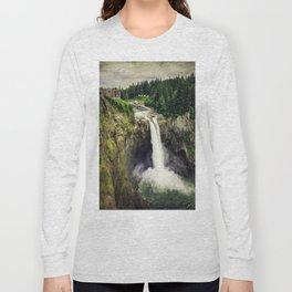 Snoqualmie Falls, Washington Long Sleeve T-shirt
