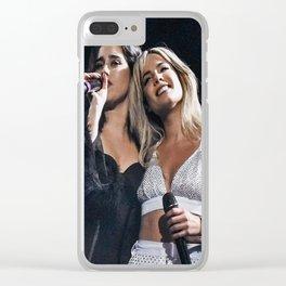 Halsey x Lauren Jauregui 2 Clear iPhone Case