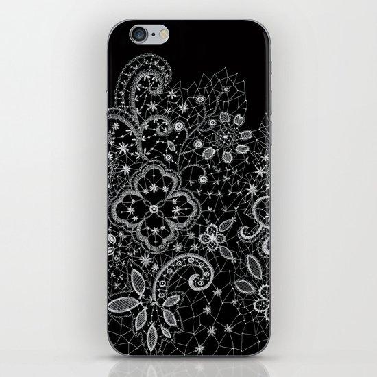 B&W Lace iPhone & iPod Skin