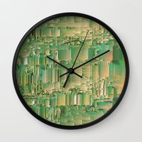 bar Wall Clocks featuring Energy bar by Okti
