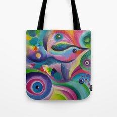 Bird Abstract Tote Bag