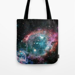 Galaxy and nebula Tote Bag