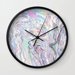Iridiscent Wall Clock
