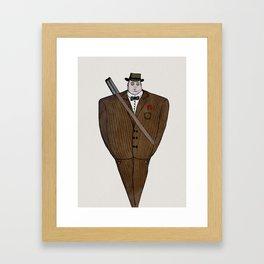 Mafia Framed Art Print